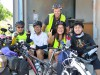 Group picture with two Hong Kongnese (left side) and a Korean cyclist