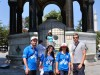 A group of volunteers guides and me in front of the German Fountain (Turkish: Alman Çeşmesi)