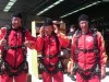 Ready for sky diving! - Picture taken by Janet